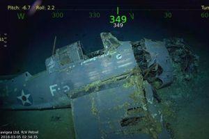 Mỹ: Tìm thấy xác tàu sân bay USS Lexington bị đánh chìm gần 80 năm trước