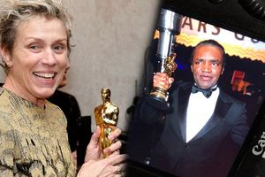 Cầm chưa kịp ấm tay, tượng vàng của Nữ chính xuất sắc nhất Oscar 2018 đã bị ăn cắp
