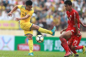 Thi đấu thiếu người, Sông Lam Nghệ An đứt mạch chiến thắng
