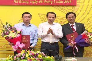 Bổ nhiệm nhân sự mới 3 tỉnh Hà Giang, Bắc Giang và Bạc Liêu