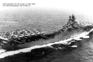 Tìm thấy tàu sân bay Mỹ chìm trong Thế chiến 2