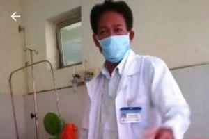 Đình chỉ công tác bác sĩ phát ngôn thiếu chuẩn mực ở Kiên Giang