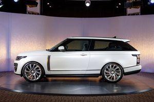 Range Rover SV Coupe lộ diện, sản xuất giới hạn 999 chiếc