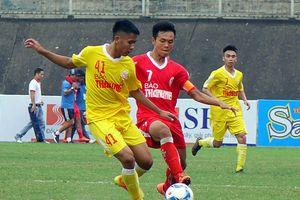 Đội bóng trẻ của bầu Hiển thắng 8-1 ở giải U19 quốc gia