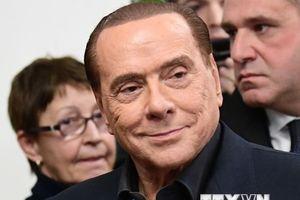 Cựu Thủ tướng Italy Berlusconi ủng hộ ông Matteo Salvini