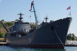 Xem tàu Nga chở đầy thiết bị quân sự sang Syria