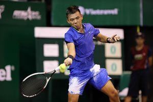 Lý Hoàng Nam thần tốc vào tứ kết đơn nam quần vợt nhà nghề Ấn Độ