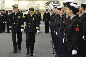 Hải quân Nhật Bản lần đầu tiên có nữ chỉ huy đội tàu chiến