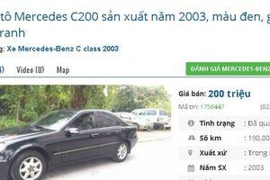 Những chiếc ô tô cũ hạng sang này đang rao giá 'rẻ bèo' chỉ 200 triệu đồng tại Việt Nam
