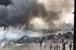 Hai vụ cháy lớn tại ngoại thành TP.HCM