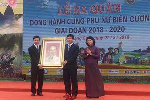 Lạng Sơn: Lễ ra quân 'Đồng hành cùng phụ nữ biên cương'