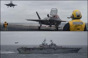 Dụng ý của Mỹ trong việc triển khai F-35B trên hạm ở biển Hoa Đông