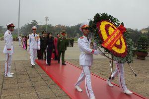 Hoạt động ý nghĩa của phòng Hồ sơ nghiệp vụ Cảnh sát công an Hà Nội