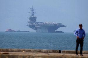 Trung Quốc phát biểu về chuyến thăm Việt Nam của tàu sân bay Mỹ