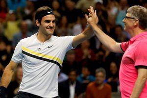 Federer và Bill Gates đánh đôi, thu 2,5 triệu USD cho trẻ em nghèo