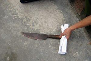 Đâm chết xóm trưởng vì nạo vét kênh mương trước nhà