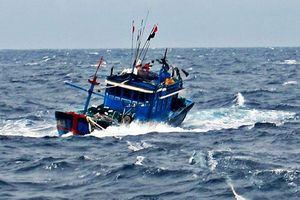 Va chạm giữa 2 con tàu trên vùng biển Nam Định