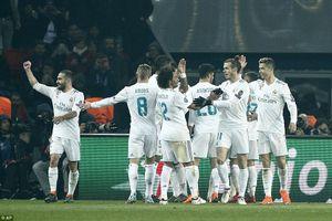 Verratti bị đuổi, PSG đuối và bị Real Madrid loại