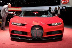 Bugatti Chiron thêm phiên bản Sport giá 3,2 triệu USD