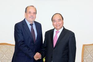 Thủ tướng Nguyễn Xuân Phúc tiếp Đại sứ Chile