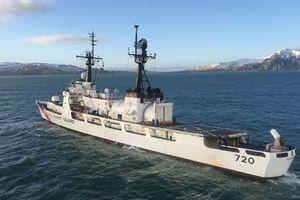 Tàu USCGC Sherman tháo trang bị, chuẩn bị giao cho Việt Nam
