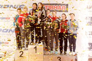 Tay vợt bóng bàn nữ gốc Việt vô địch nước Đức