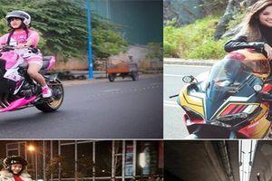 Những bóng hồng chơi xe phân khối lớn đình đám nhất Việt Nam