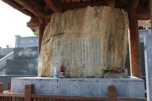 Bảo vật quốc gia Bia Lê Lợi viết những gì?