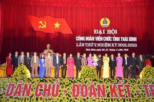 Đồng chí Trần Thị Minh Thu giữ chức Chủ tịch CĐ VC tỉnh Thái Bình