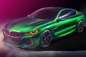 BMW Concept M8 Gran Coupe ra mắt tại Geneva Motor Show 2018