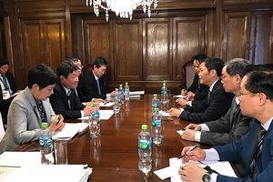 Hình ảnh đầu tiên trước giờ ký Hiệp định CPTPP tại Chile
