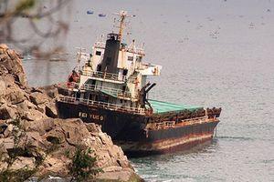 Những con tàu đắm ở vịnh Quy Nhơn giờ ra sao?