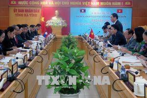 Ủy ban Dân tộc của Quốc hội Lào làm việc tại Hà Tĩnh