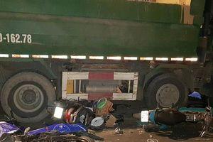 Khởi tố tài xế xe ben tông hàng loạt xe máy làm 6 người thương vong