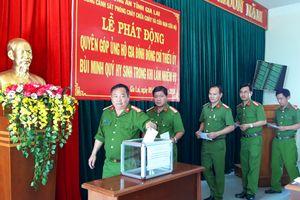 Quyên góp ủng hộ hơn 400 triệu cho gia đình Thiếu úy Bùi Minh Quý