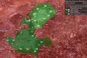 'Hổ Syria' đè bẹp hệ thống phòng thủ thánh chiến, quyết vây khốn Đông Ghouta - Douma