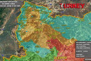 Quân Thổ Nhĩ Kỳ đánh chiếm nhiều địa bàn, chiến tuyến người Kurd sụp đổ