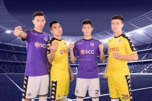 Bóng đá Việt trước thềm mùa giải 2018: Giá trị của bóng đá từ bộ trang phục