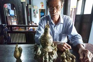 Huế: Đào được cổ vật quý hiếm thời Minh-Thanh, quyết không bán