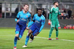 Hạ đẹp AC Milan, Arsenal mở toang cửa vào tứ kết Europa League