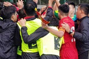 U16 Lào gây sốc giúp U16 Việt Nam vào bán kết