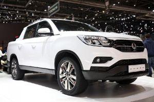 Mẫu xe SsangYong Musso cạnh tranh với 'vua' bán tải Nissan Navara