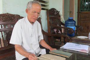 Người 'giữ hồn' chữ Thái cổ