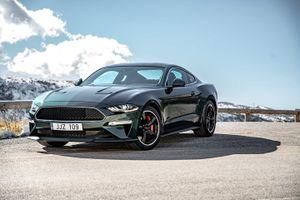 'xế' sang Ford Mustang Bullitt 457 mã lực có mặt tại châu Âu