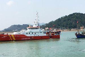 7 ngư dân Nghệ An gặp nạn trên biển Vịnh Bắc Bộ được cứu kịp thời