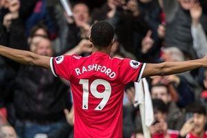 Rashford hai lần lập công, Man Utd xây chắc ngôi nhì bảng