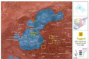 Quân đội Syria tử chiến chiếm hơn 50% sào huyệt thánh chiến Đông Ghouta