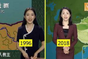 MC thời tiết xinh đẹp 22 năm trên truyền hình không hề già đi