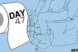 47 ngày không đi vệ sinh, nghi phạm khiến cảnh sát hoảng hốt phải vội vàng thả ra