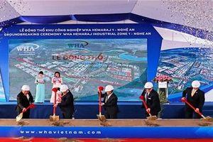 Phó Thủ tướng Vương Đình Huệ dự lễ khởi công dự án khu công nghiệp 1 tỷ USD